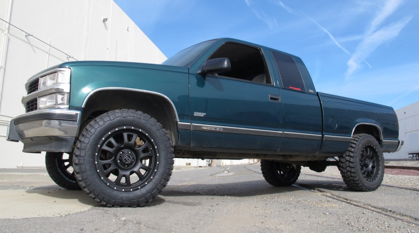 1997 Chevy C1500 4-inch Lift