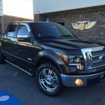 Ford F150 Lariat with KMC Spy Wheels