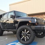 Lifted Moto Metal Jeep