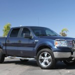 Leveled F150 with Rocket Racing Wheels