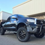 Lifted Toyota Tundra with Fuel Wheels