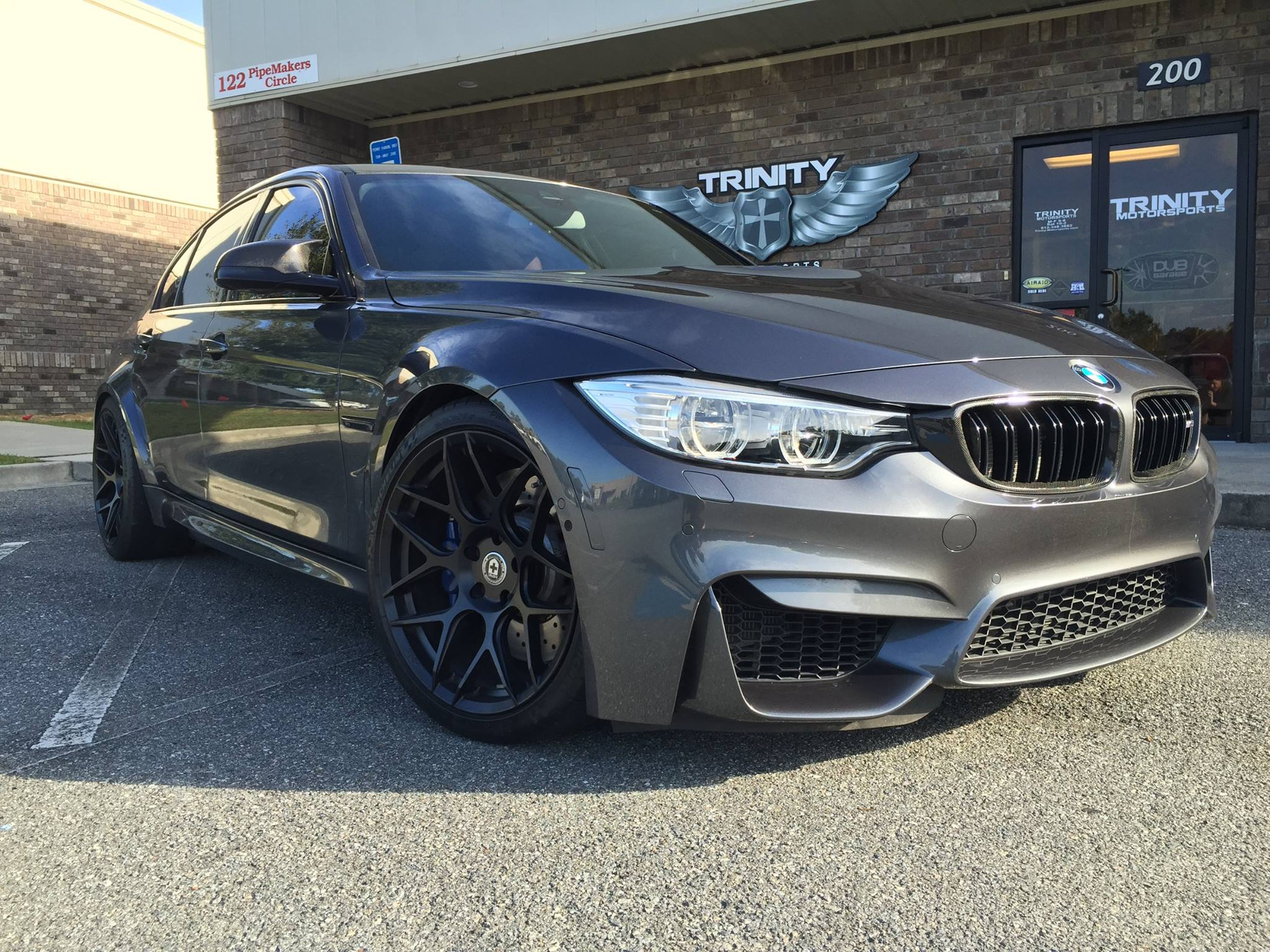 Lowered Bmw M3 On Hre Wheels Trinity Motorsports