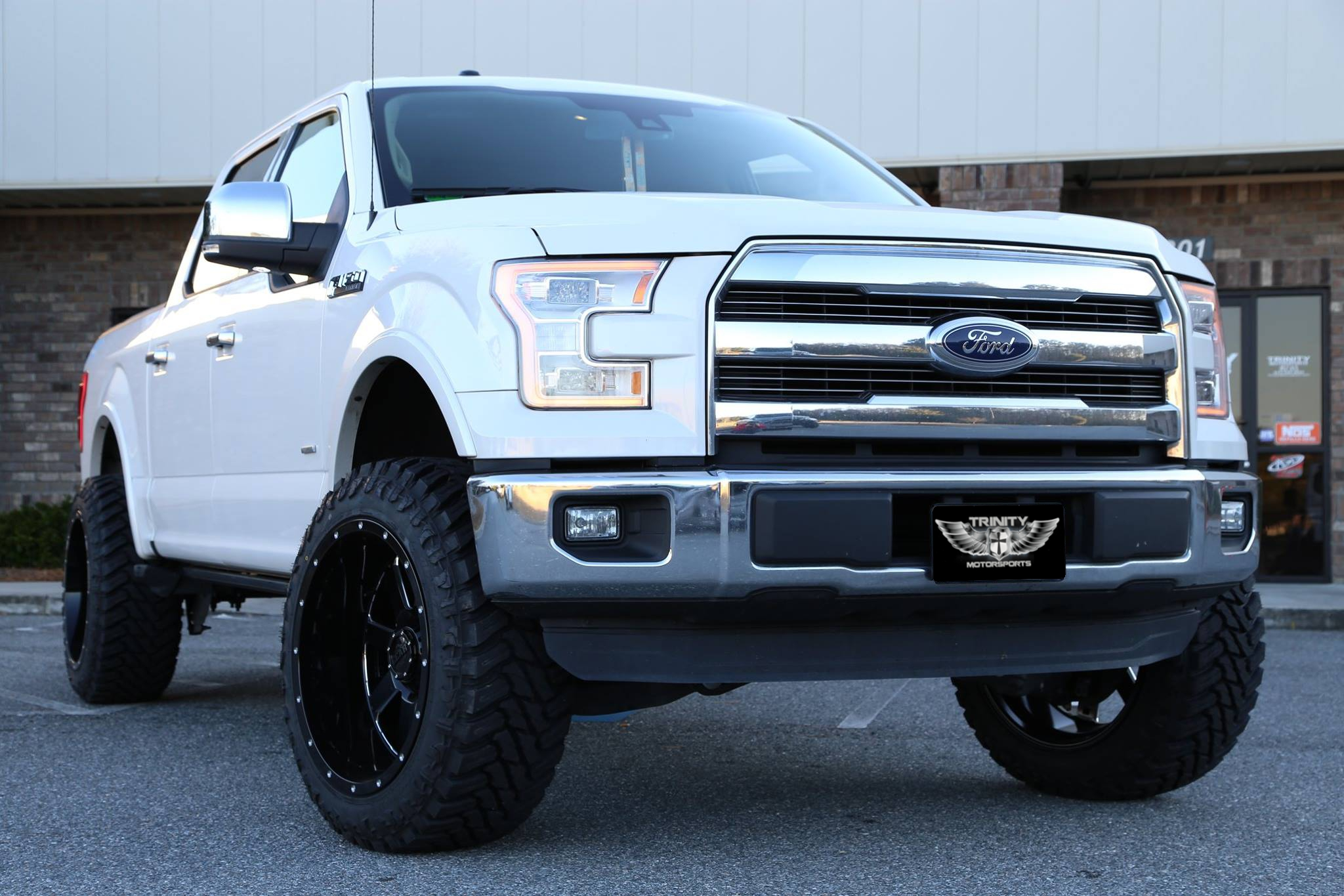 2015 F150 Lariat On Big Blocks Trinity Motorsports