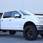 2015 F150 Lariat on Big Blocks