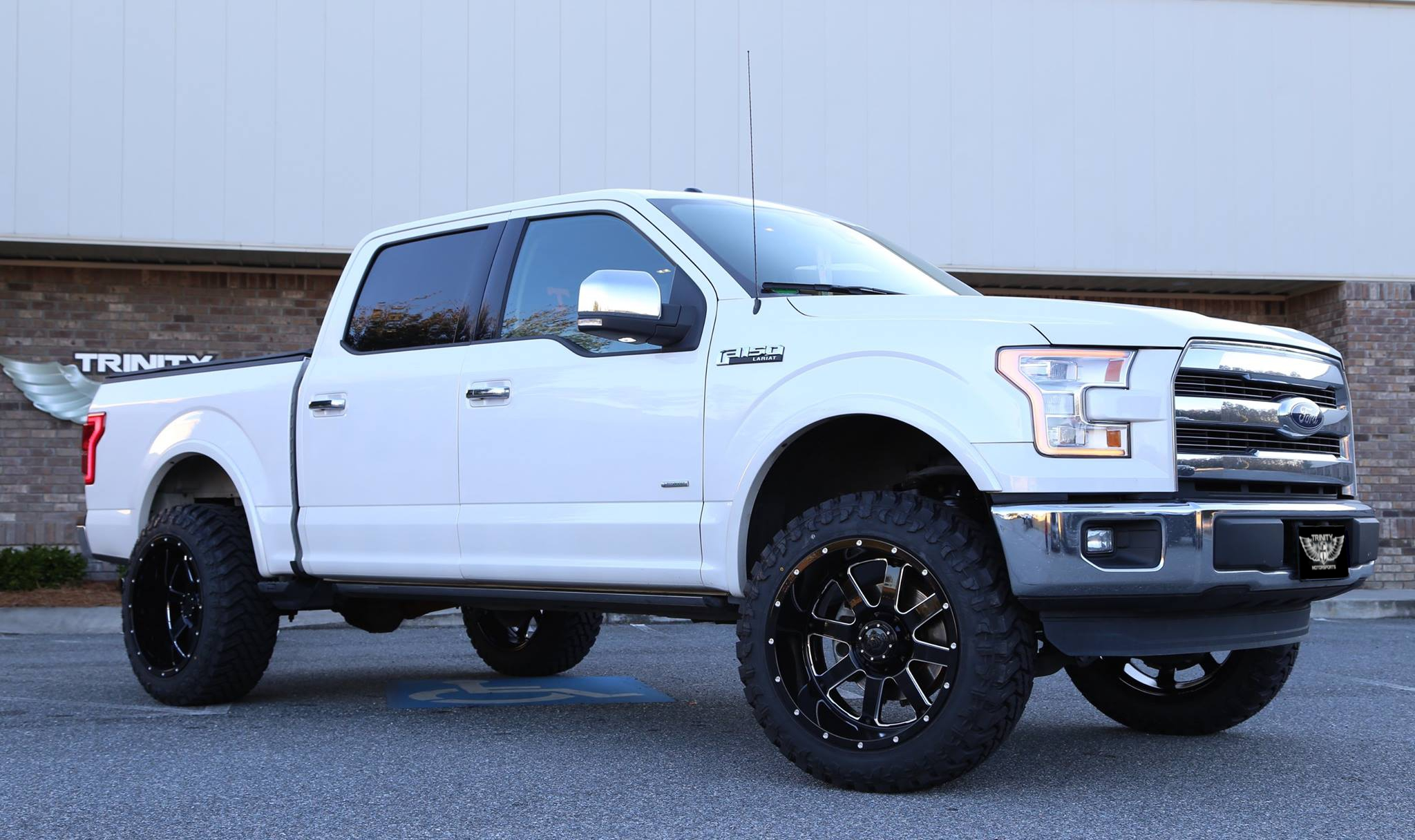 2015 F150 Lariat on Big Blocks - Trinity Motorsports