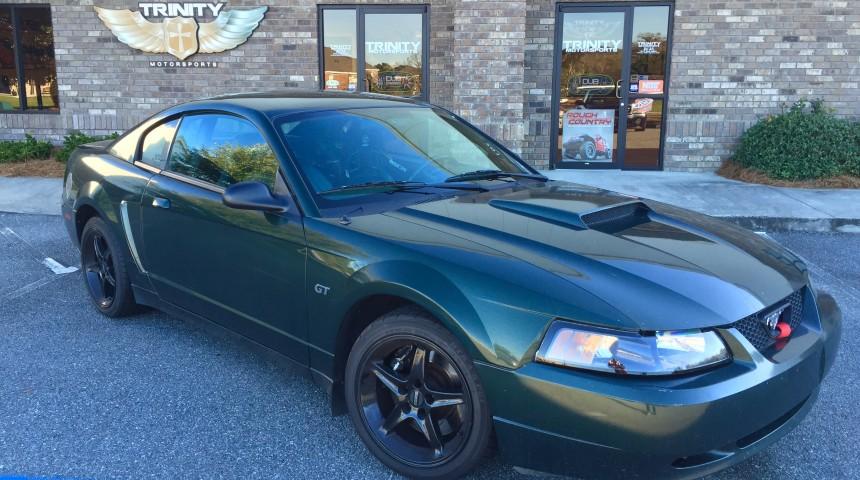 2001 track-prepped Bullitt Mustang GT