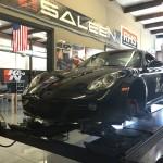 track-prepped Porsche Cayman
