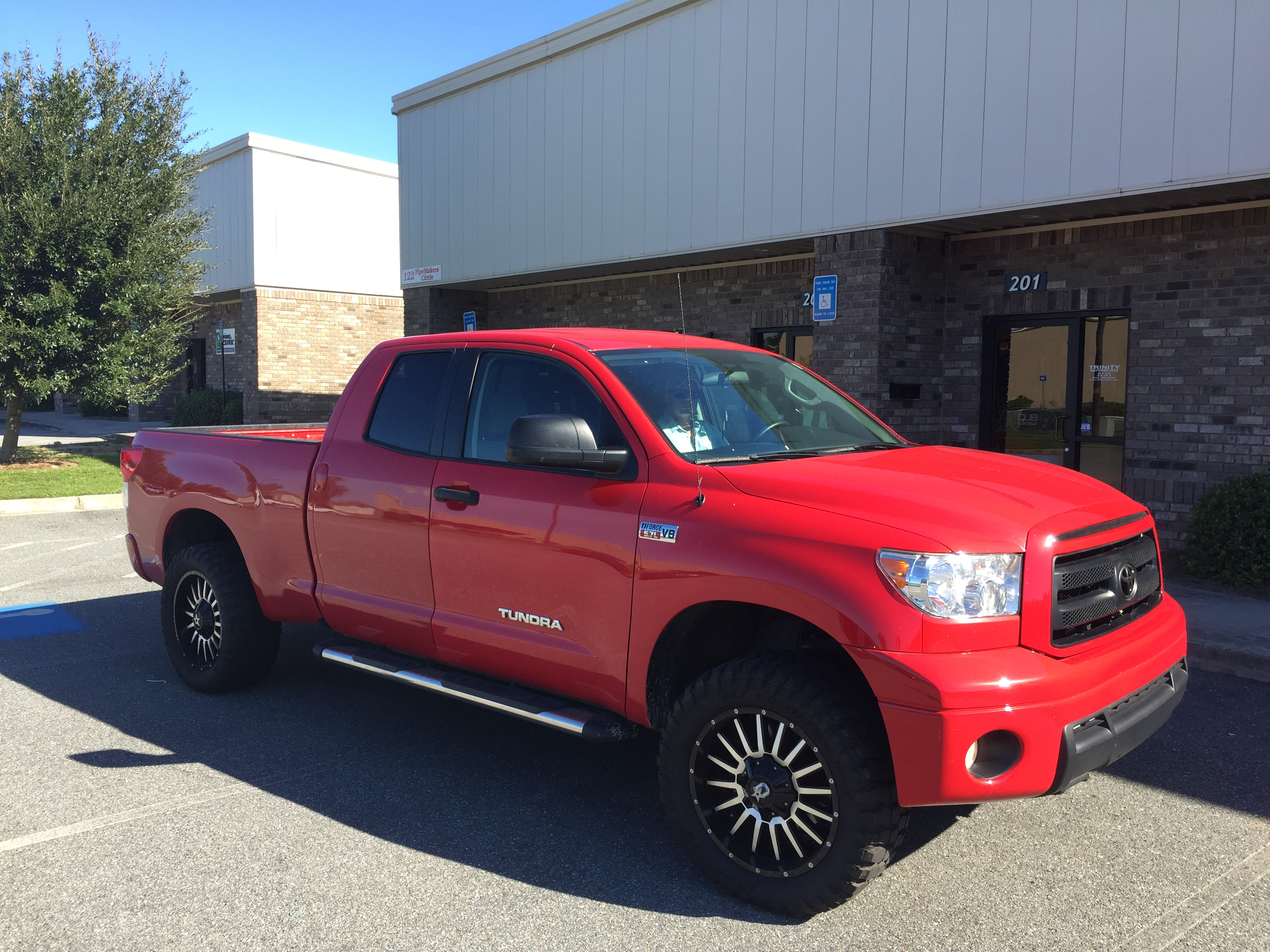 2016 Toyota 4Runner Accessories >> Red Tundra on DropStars - Trinity Motorsports