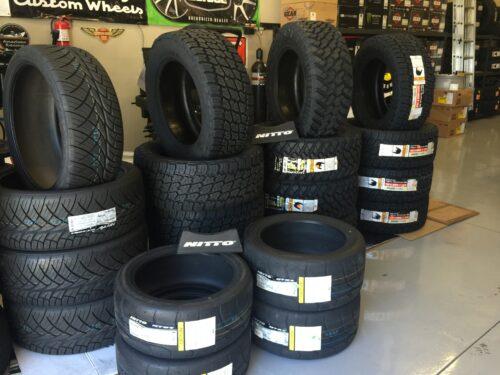 Shop pics Nitto tires OCT 15