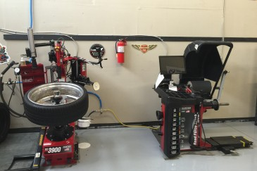 Shop pics tire machines SEP 15