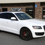 Lowered 2012 Audi Q5 on Niche Wheels