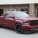 2015 Lowered GMC Sierra Borla Exhaust