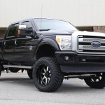 Lifted 2014 F250 Platinum on Gear Alloy Big Blocks
