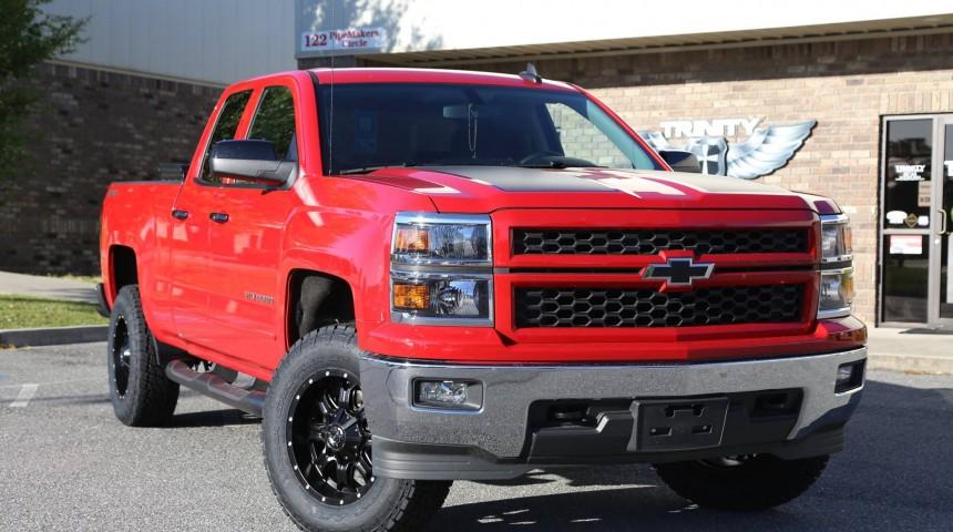 2015 Silverado 4wd 3.5inch lift on TIS wheels