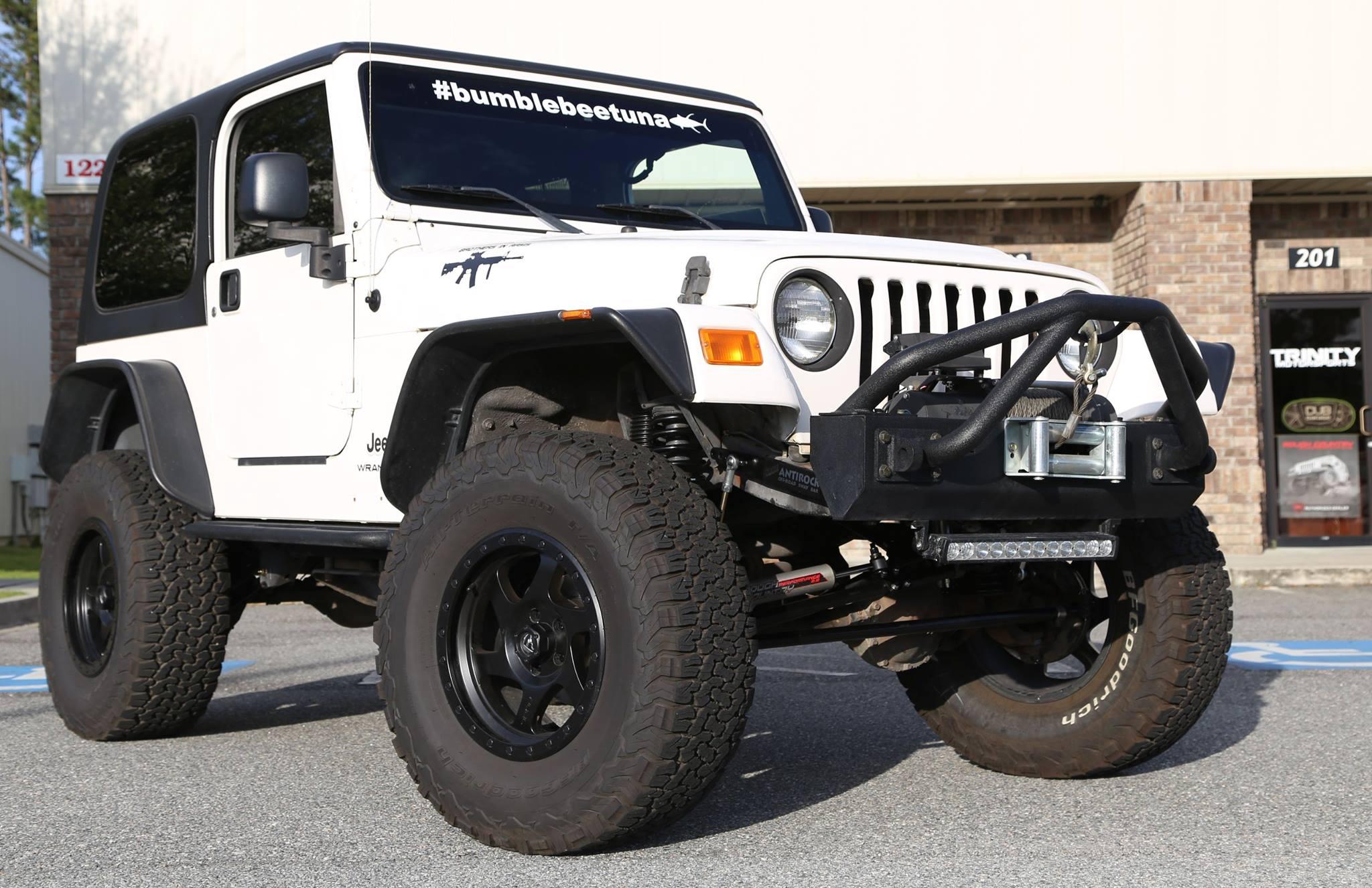 2005 Jeep Tj Currie Lift Trinity Motorsports