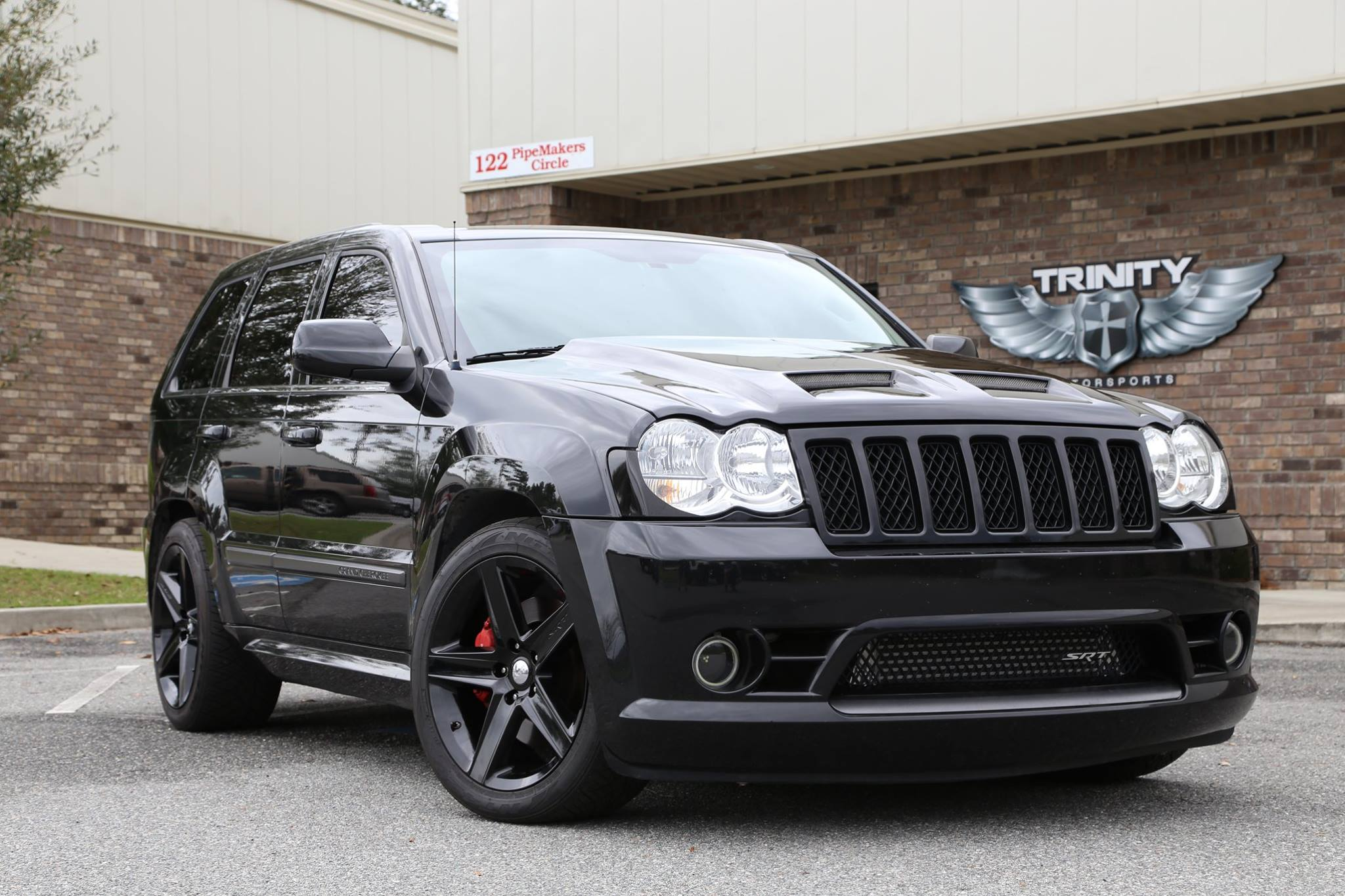 demonized srt8 grand cherokee trinity motorsports. Black Bedroom Furniture Sets. Home Design Ideas