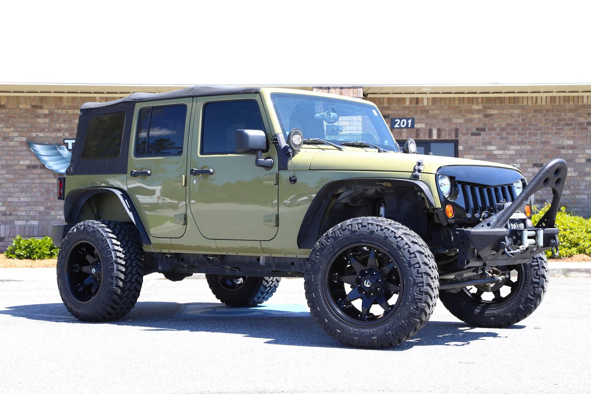 Jeep Performance Parts >> Octane Jeep JKU - Trinity Motorsports