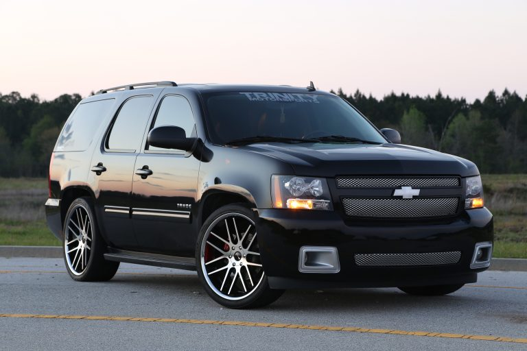 Lowered and Magnuson Supercharged 2010 Tahoe on 24s ...