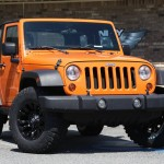 Jeep JK with Vapor Wheels