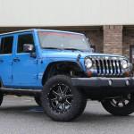 Jeep JKU Maverick Zombie Response Unit on 35s
