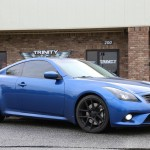 Lowered Infiniti G37 Coupe Velgen Wheels