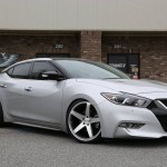 Lowered 2016 Nissan Maxima Concavo Wheels