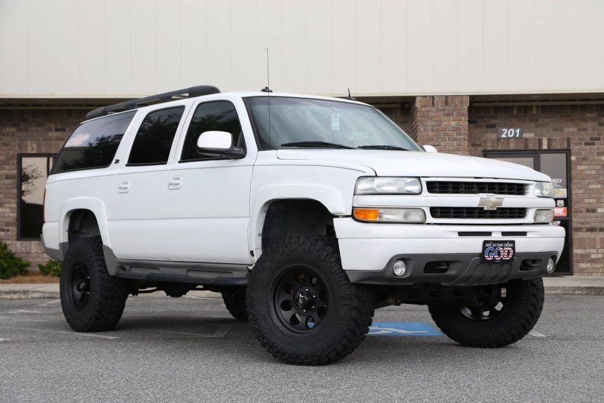 F further Suburban Lifted X additionally User Pic   Cdcadfad D Dea Eb E F Cea likewise Oem Factory Wheels Style Silver Machine Rims Audiocity besides . on 2002 chevy suburban lift kit