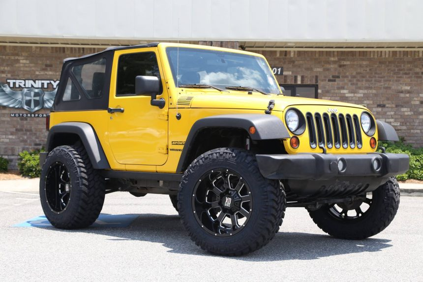 Lifted Jeeps Trinity Motorsports