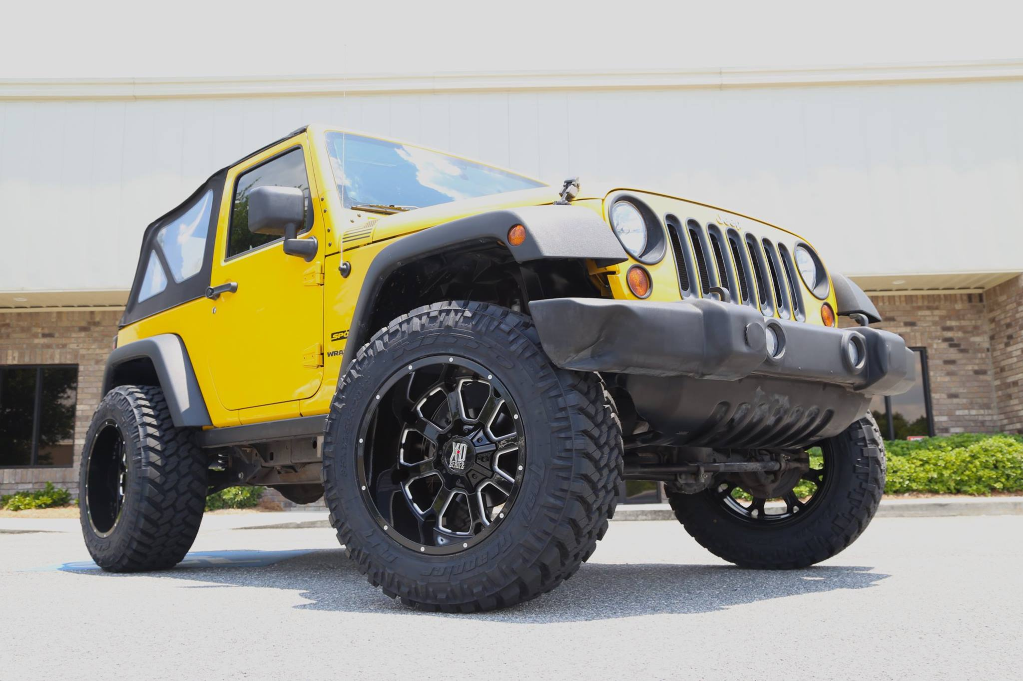 Lifted 2011 Jeep JK on KMC Buck Wheels - Trinity Motorsports
