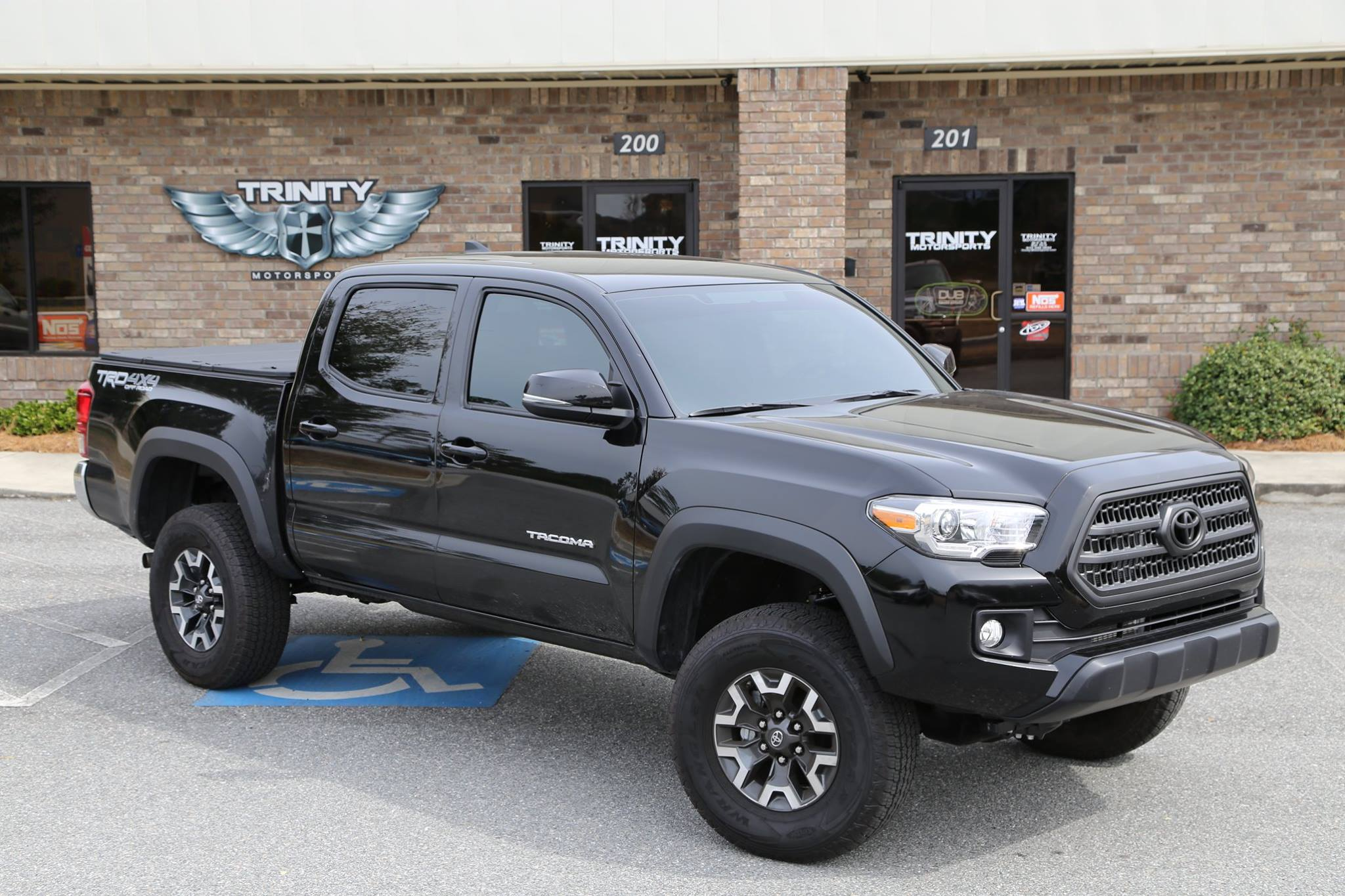 Shocks For Ford F250 2016 Toyota Tacoma Lifted on Fuel Vapors - Trinity Motorsports