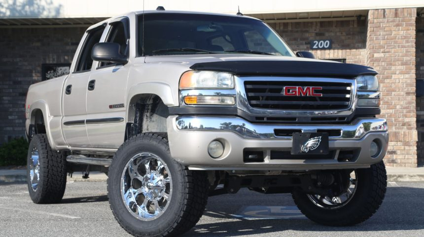 Lifted GMC Sierra 2500HD on Fuels