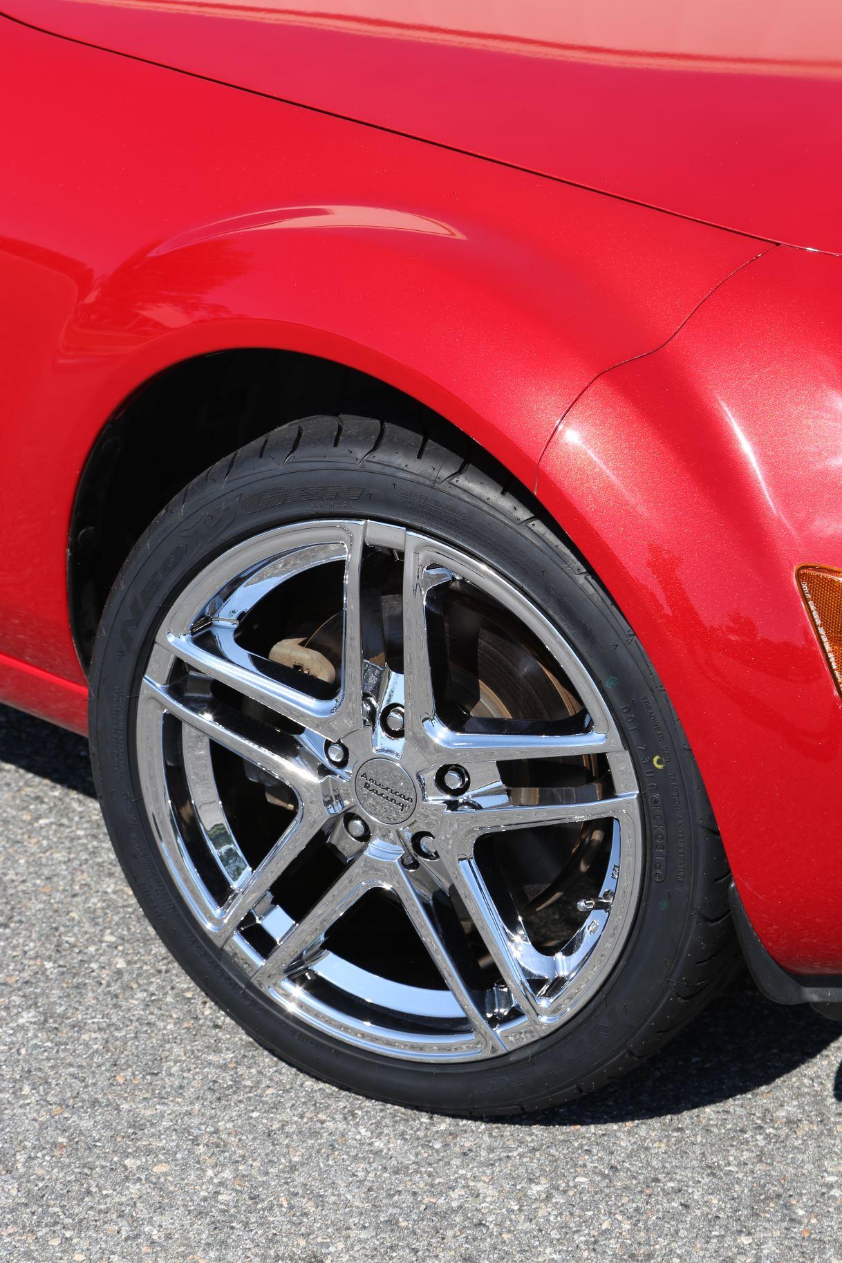 06 Miata With American Racing Wheels Trinity Motorsports