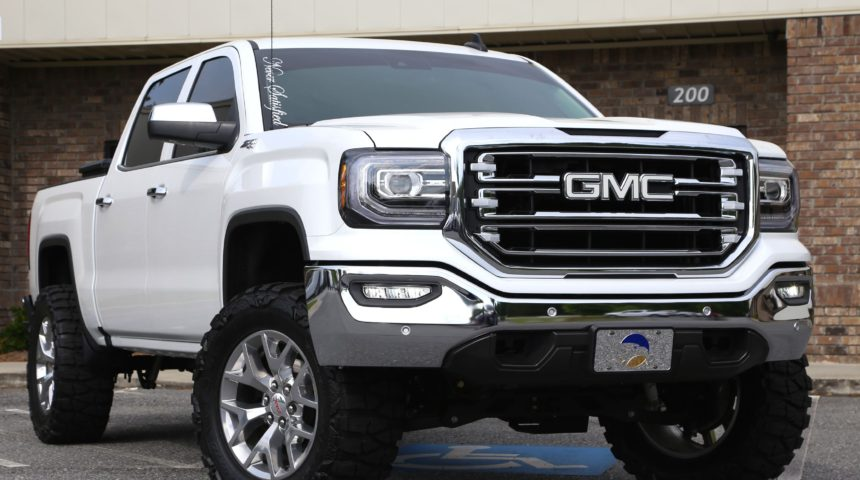 Clean '16 Lifted GMC Sierra