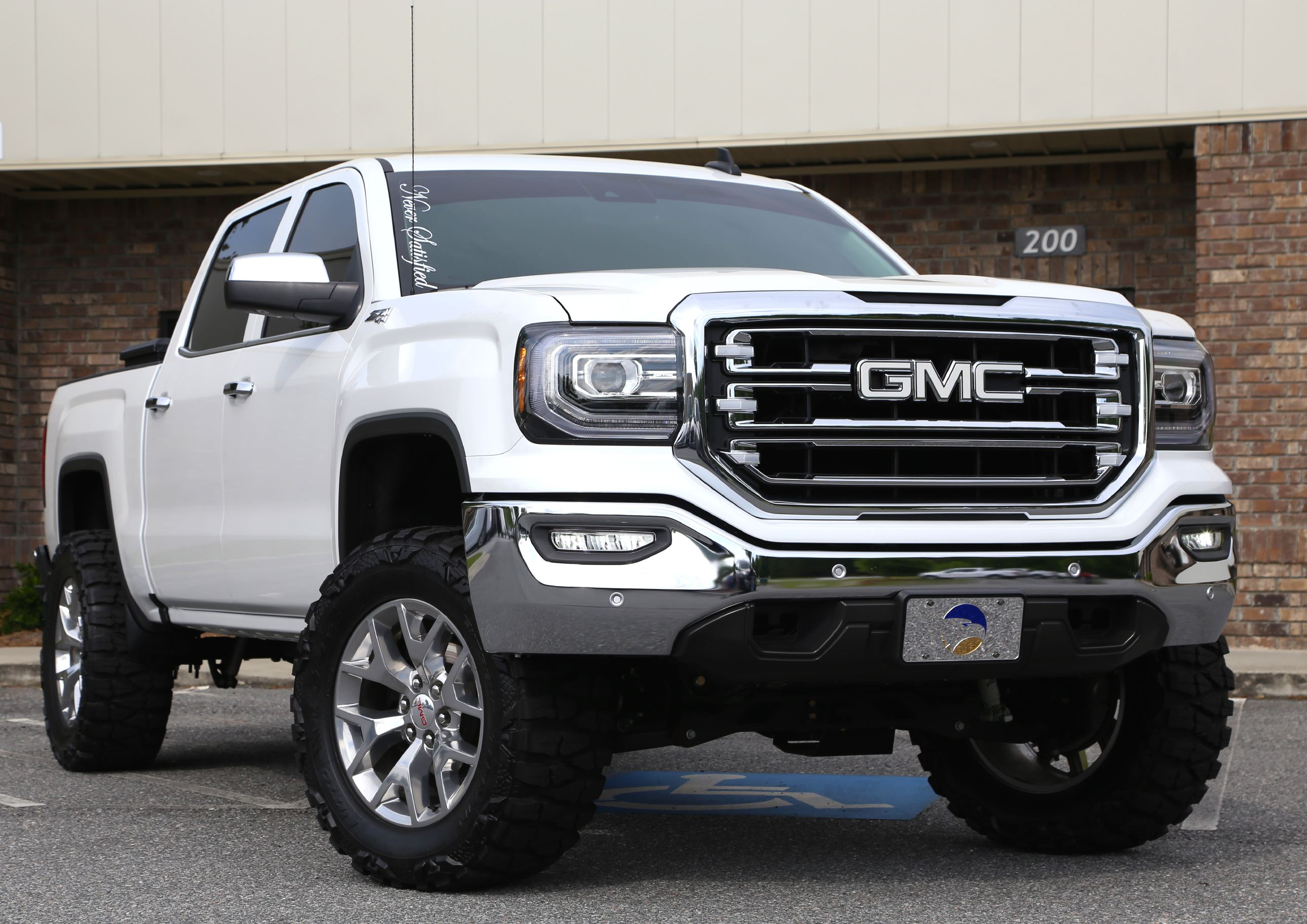 2016 Gmc Sierra 1500 Hostile Sprocket Fabtech Suspension ... |Lifted Gmc Sierra