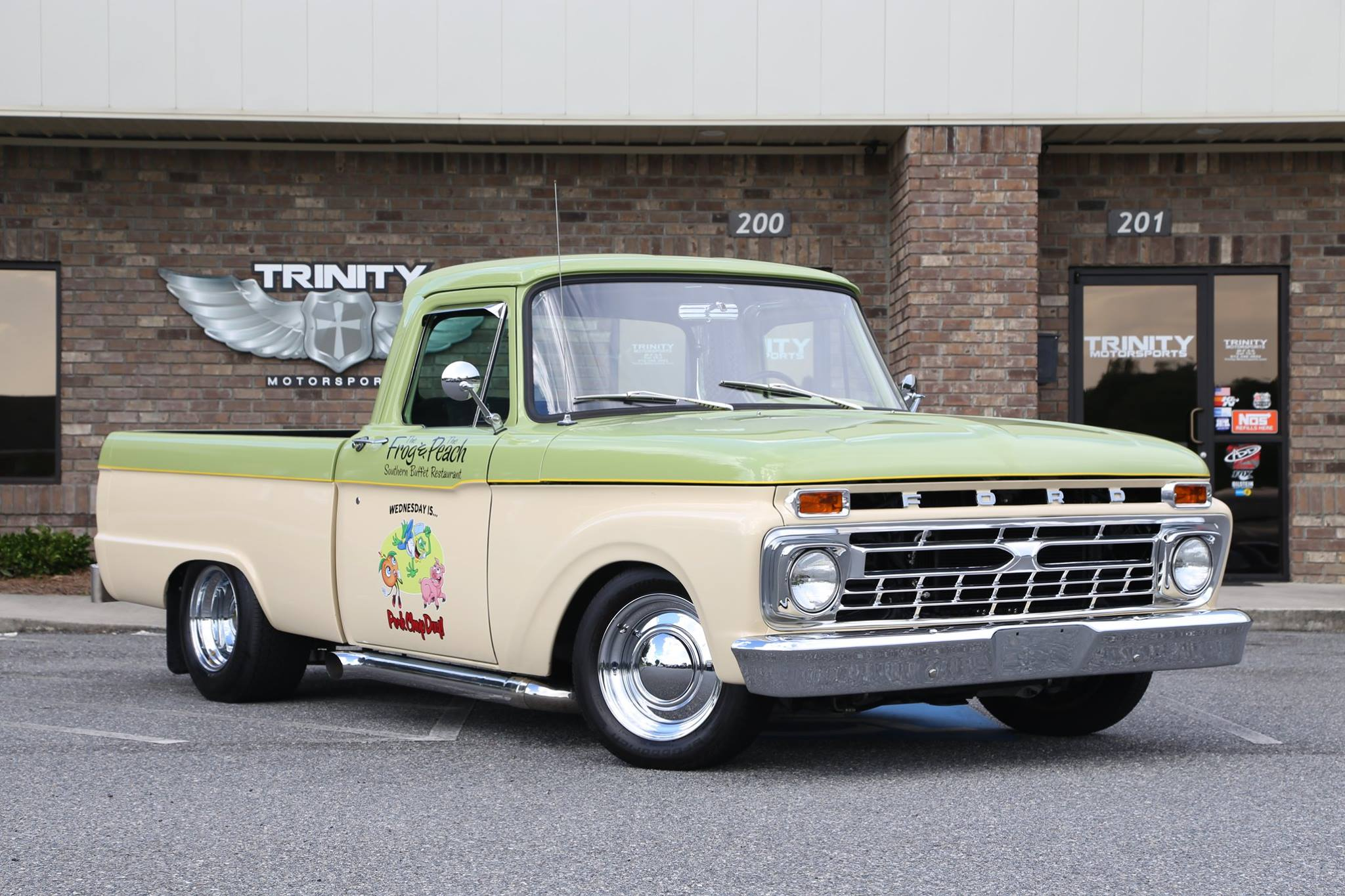 1965 ford f100 w 4 6l swap trinity motorsports. Black Bedroom Furniture Sets. Home Design Ideas