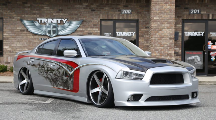 Bagged 2011 Dodge Charger RT