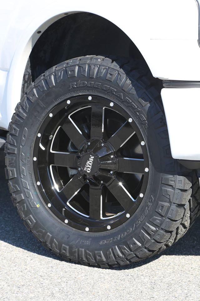 ridge grapplers f150 grappler leveled metal moto wheels inch motorsports trinity truck