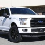 16′ F150 leveled with Ridge Grapplers