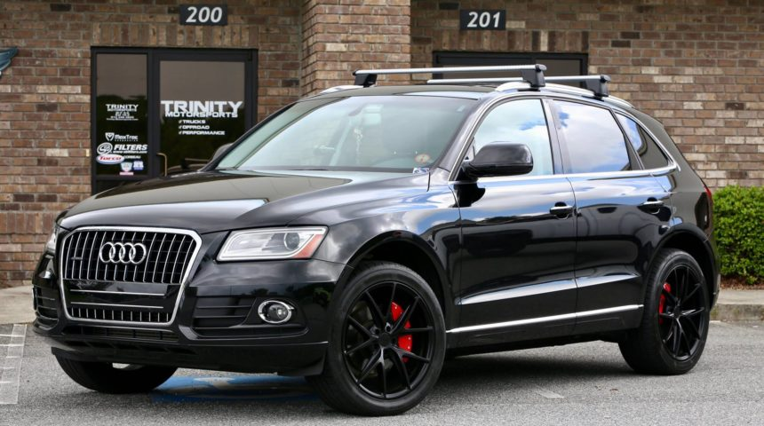 Audi Q5 Niche Wheels and Nitto Tires