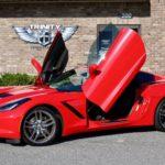 C7 Corvette Stingray Vertical Lambo Doors