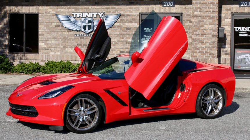 C7 Corvette Stingray Vertical Lambo Doors