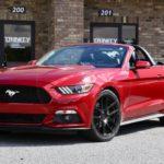 Mustang drop-top on Velgen Wheels