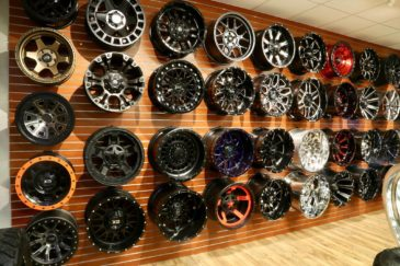 Trinity Motorsports Wheel Wall Rims