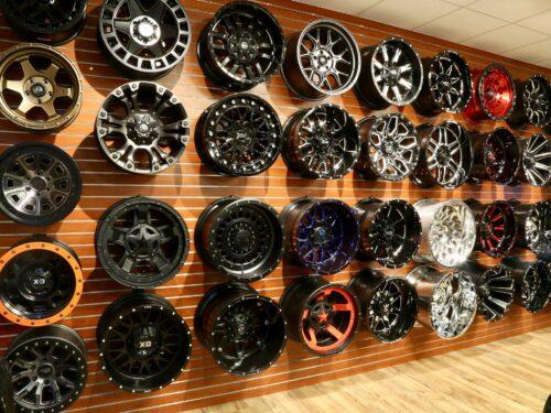 Trinity Motorsports Wheel Wall Rims