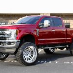 '19 F250 with 8-inch ReadyLift on 26×16 Forged Fuels