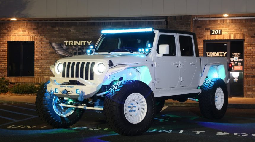 2020 Jeep Gladiator iHeart Dental Build