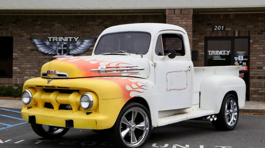 Coyote swapped 1951 Ford F1